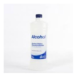 Alcohol 70% (1000ml y 500ml)
